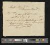 Benjamin Bone DS to Maskell Ewing, August 6, 1792