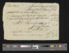 Cato Adams DS to Maskell Ewing, August 6, 1792