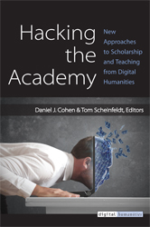 """Hacking the Academy: New Approaches to Scholarship and Teaching from Digital Humanities"" icon"