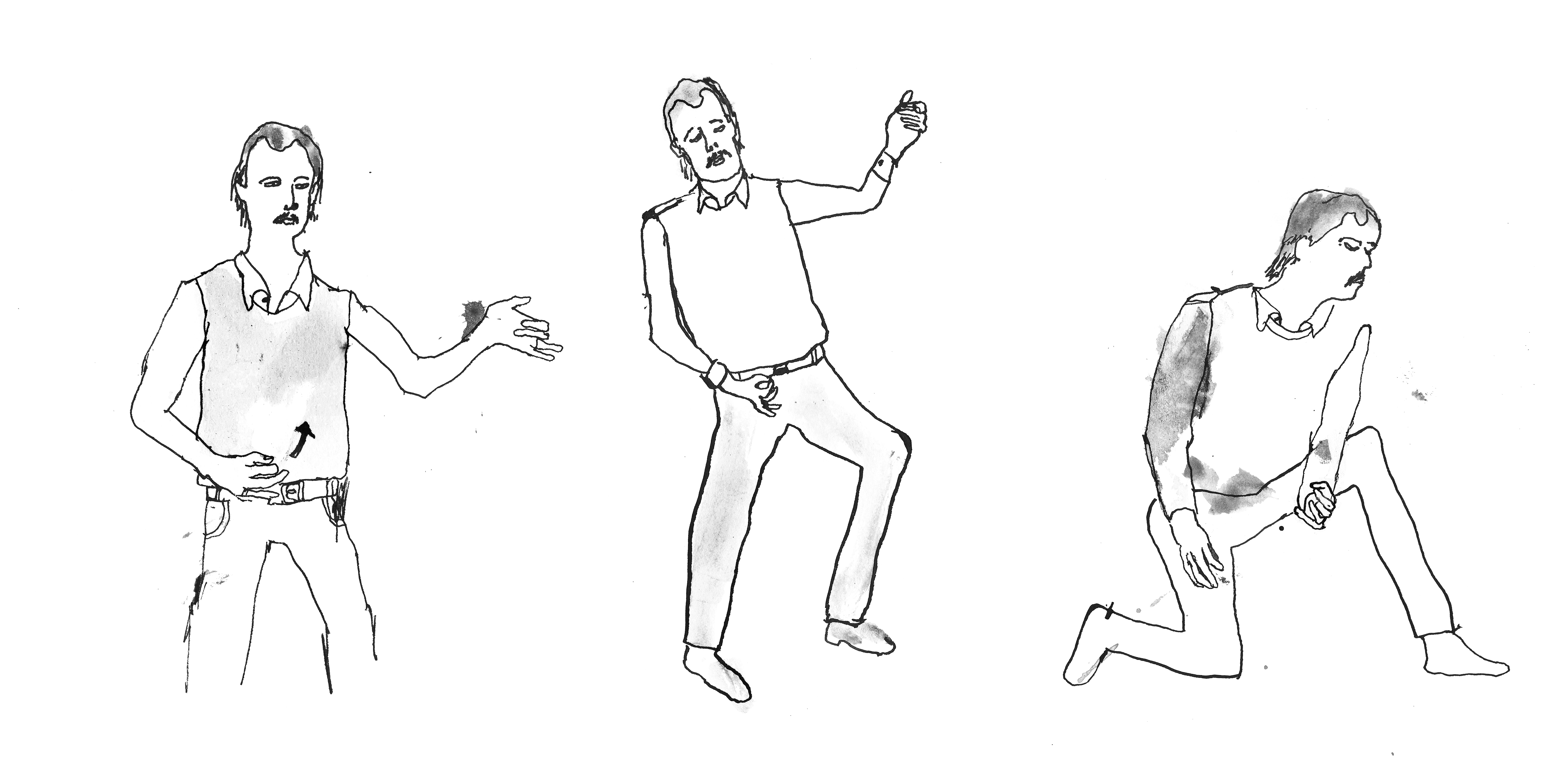 Figure 14 air guitar solo clarence plays crazy train