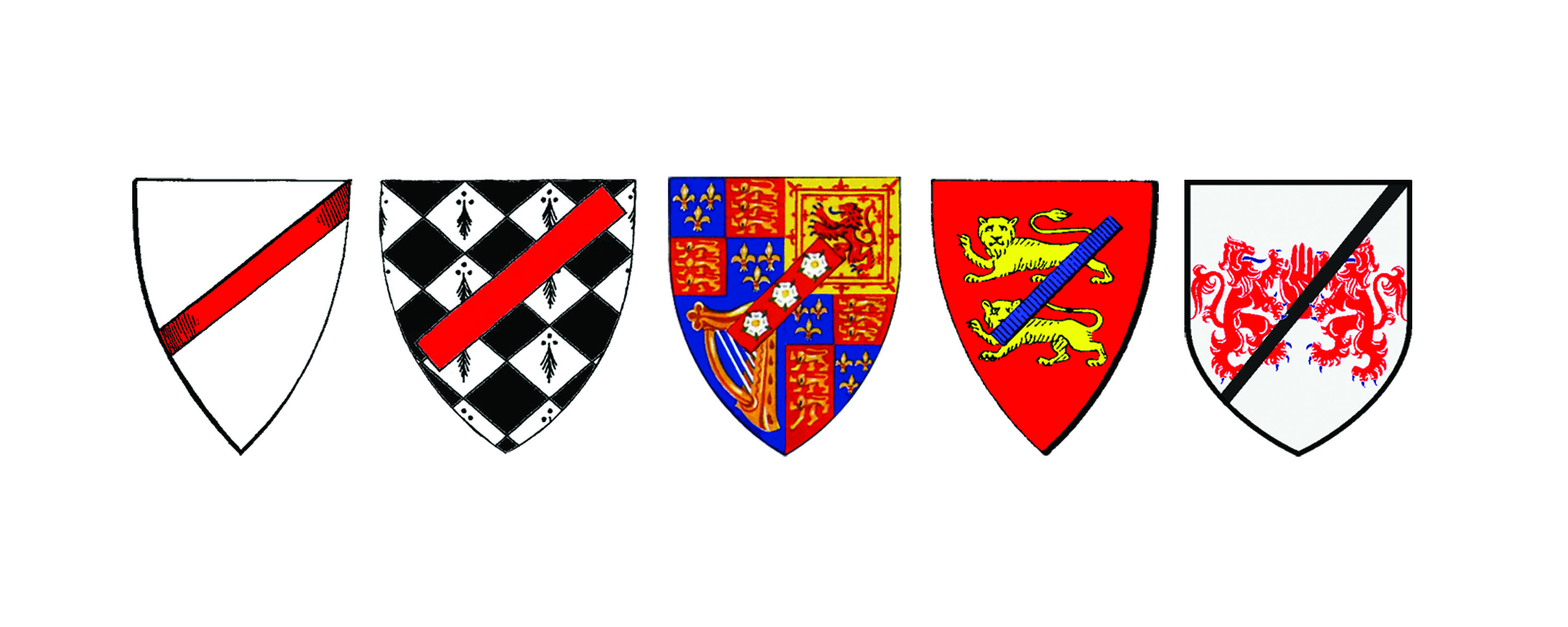Figure 10.: Medieval, European heraldry exemplifies the power symbols carry to mark members of a given society with 'otherness.' Unless we sensitize ourselves with increased iconographic empathy, our sign systems will continue to perpetuate exclusionary social and cultural ideas, and remain as stereotypical in our future information landscape as they were during European design's often ignoble, heraldic past. Source: Dobson, T. 2016.