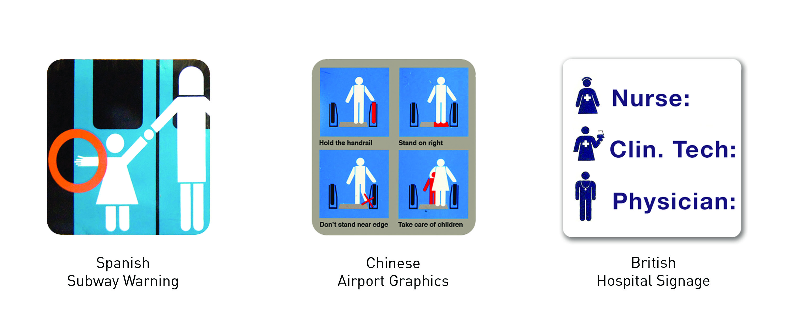 Figure 11.: Ethics of Everyday Icons: The visually persuasive power of everyday signage can have a formative influence on society. The seemingly neutral and objective qualities of male and female iconography are actually socially symbolic in their gender references, and belie a normalization of gender roles, social hierarchies and stereotypical labeling. Source: Dobson, T. 2016.