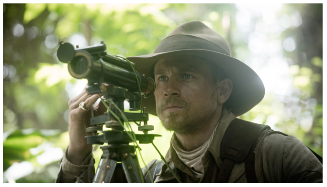 Fig. 5: Charles Hunnam as British explorer Percey Fawcett in David Grann's The Lost City of Z.
