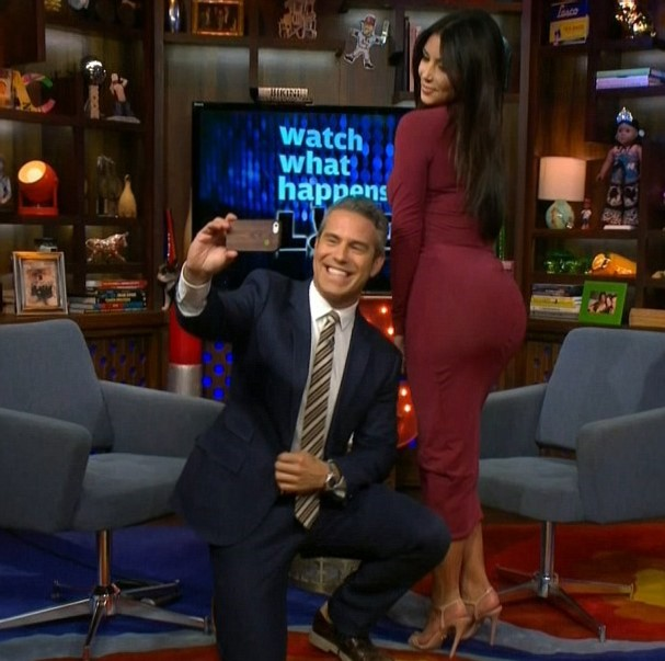 Figure 3: Great Minds Think Alike: Andy Cohen and Kim Kardashian