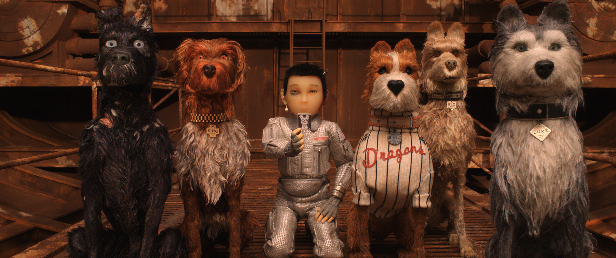 Figure 1: The gang's all here: Isle of Dogs by Wes Anderson.