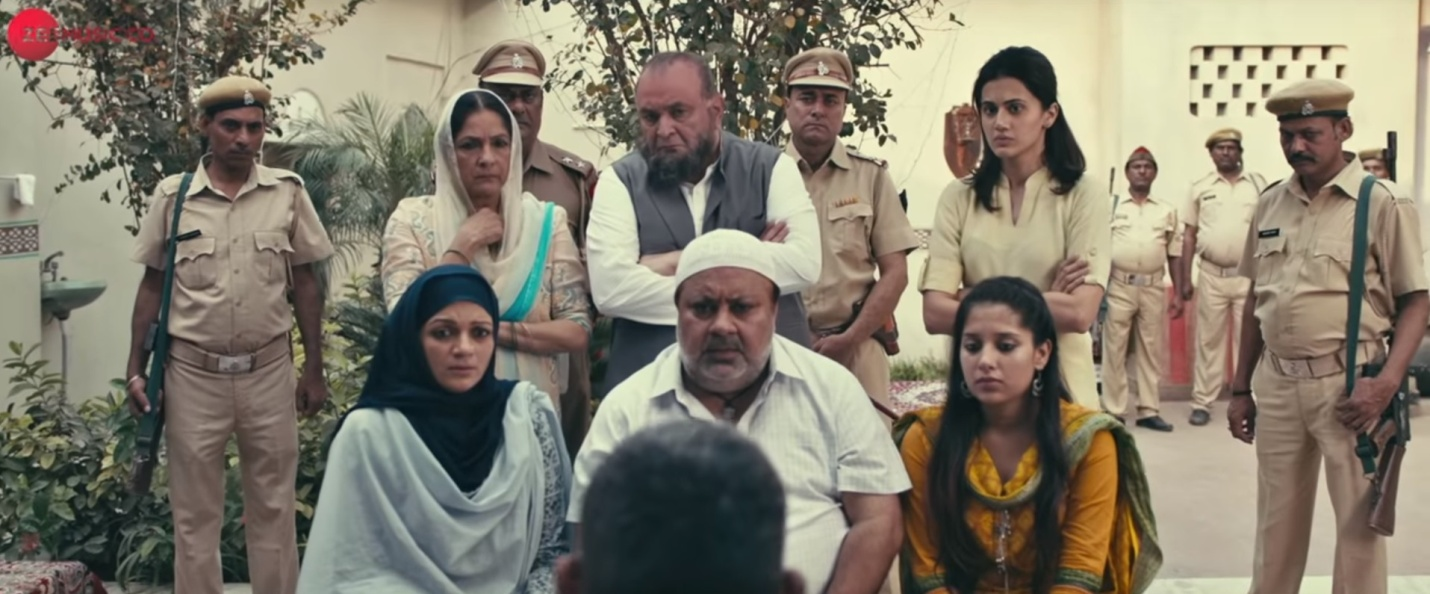 Figure #2: The family struggles to come to terms with Shahid's identity as a terrorist