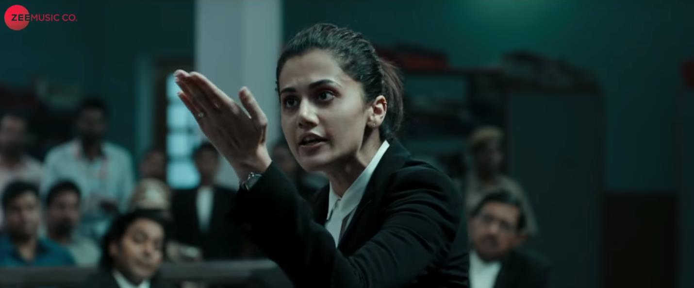 Figure #5: Aarti defends Murad in court