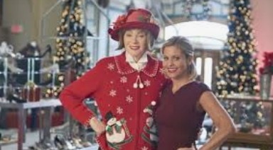 Figure 4.: Jean Smart and Candace Cameron Bure in A Shoe Addict's Christmas