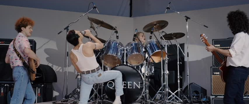 Figure 8: The reconstruction of Queen's performance at Live Aid.