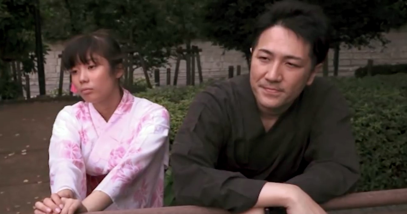 Figure 3: Mahiro and Ishii go to a summer festival. Their meeting never involves Miki, a circumstance carefully orchestrated by Miki and Ishii.