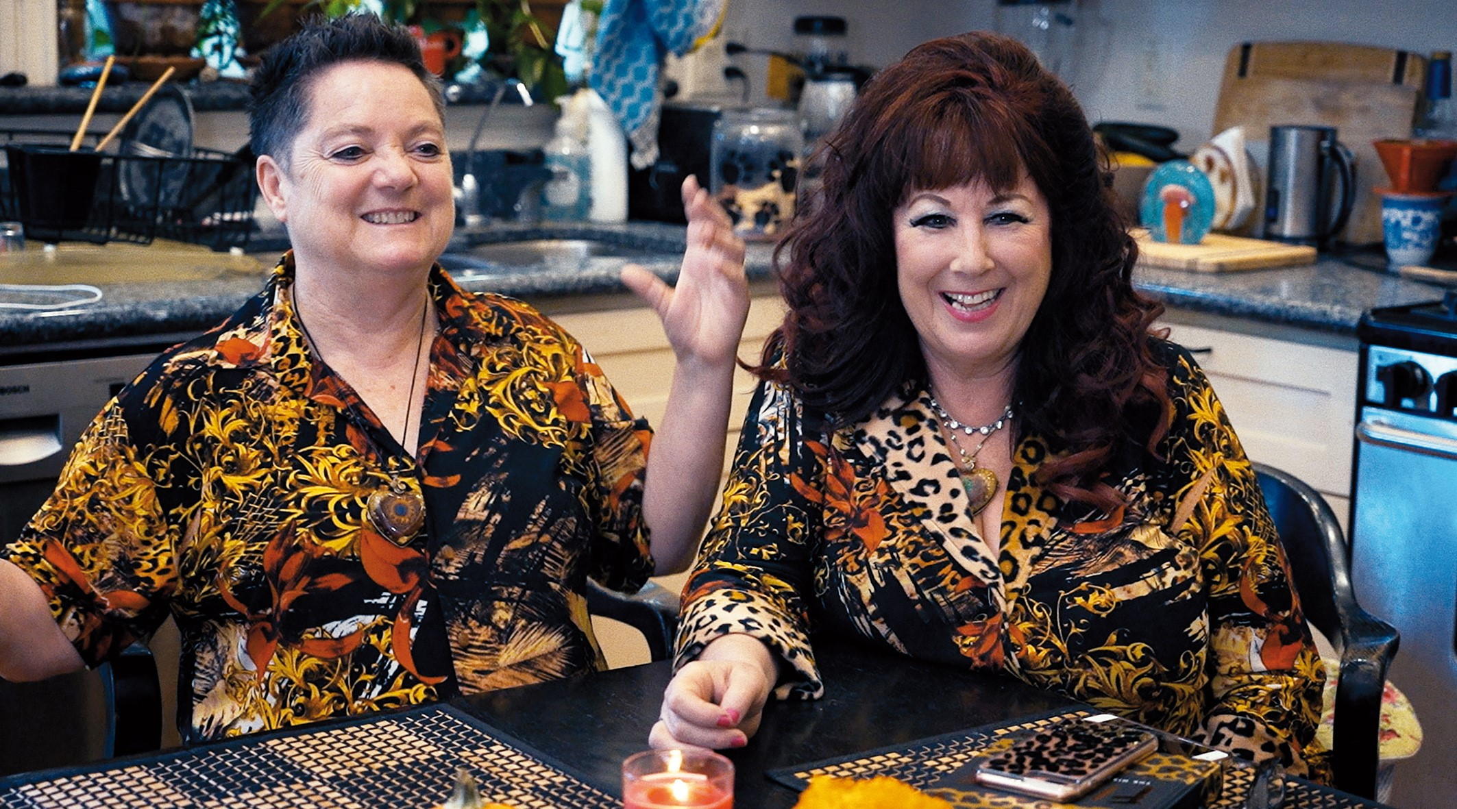 Image: Annie Sprinkle (right) and Beth Stephens in Monika Treut's Genderation