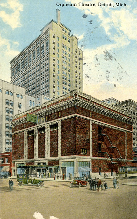 detroit  michigan and the 1918