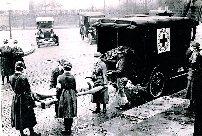 the prevalence of the influenza epidemic during world war i