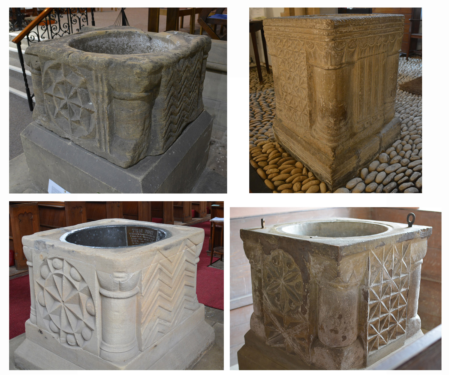 Baptism and Burial in Stone: Materializing Pastoral Care in