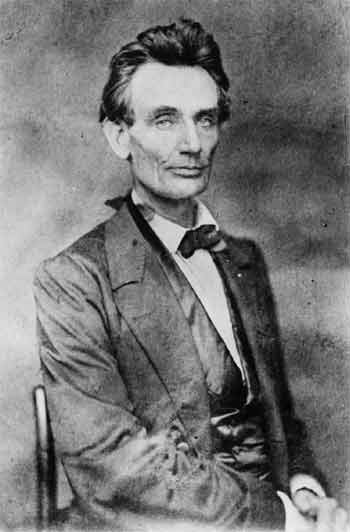 Photograph of Abraham Lincoln, May 20, 1860, probably by Preston Butler