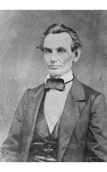 Abraham Lincoln taken by Edward A. Barnwell on May 9, 1860, in Decatur, Illinois