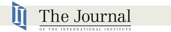 Journal of the International Institute