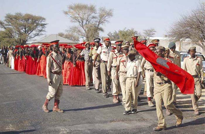 Okahandja, Namibia, August 2004, Herero Day commemorations