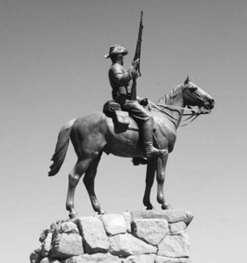 Equestrian Statue, Windhoek