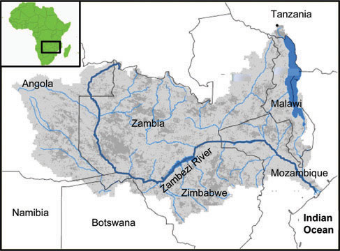 Sustainable Water Management In The Zambezi River Basin - Important rivers in africa