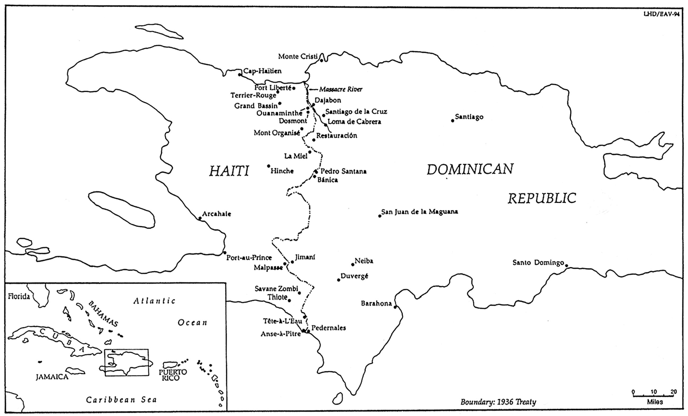 Como Es Vivir En Haiti un mundo destruido, una nación impuesta: la masacre haitiana