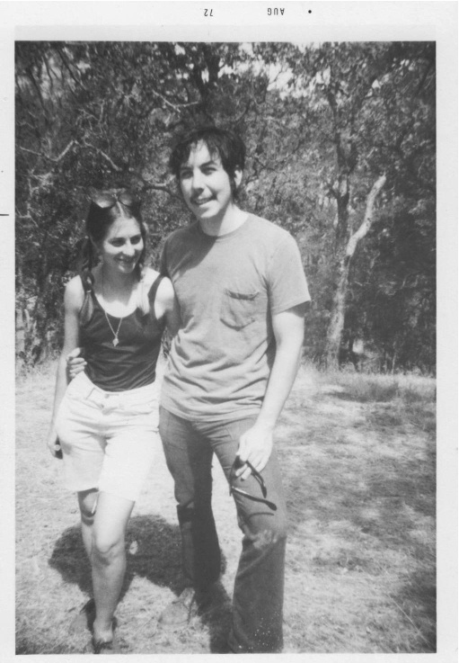 Figure 20.3. Alan at UC Berkeley as a graduate student and young socialist, with Celia Stodola in the Berkeley Hills, 1972. Credit: Personal collection of Alan M. Wald.