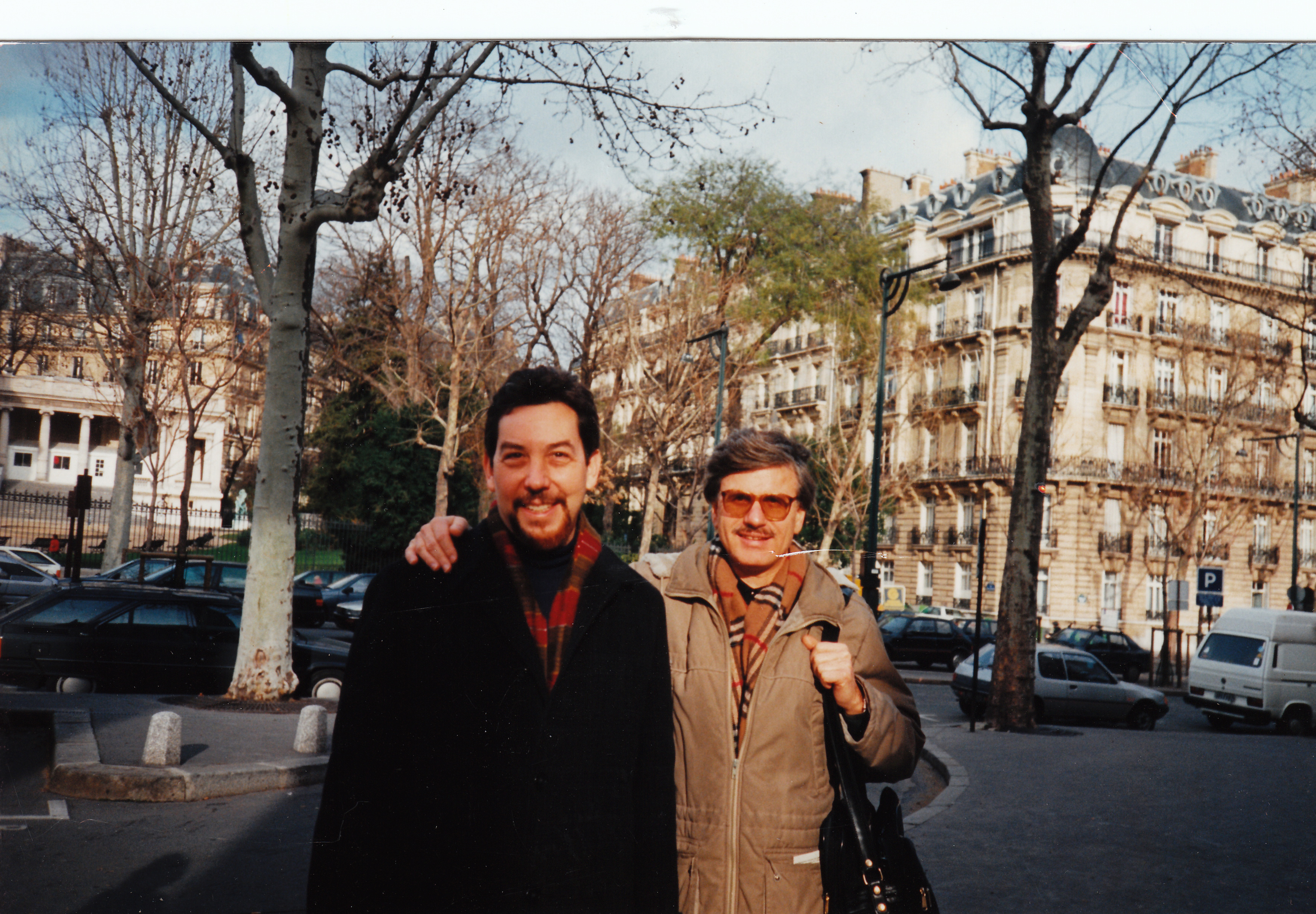 Figure 20.7. Alan with Michael Löwy, Paris, November 1992. Credit: Personal collection of Alan M. Wald.