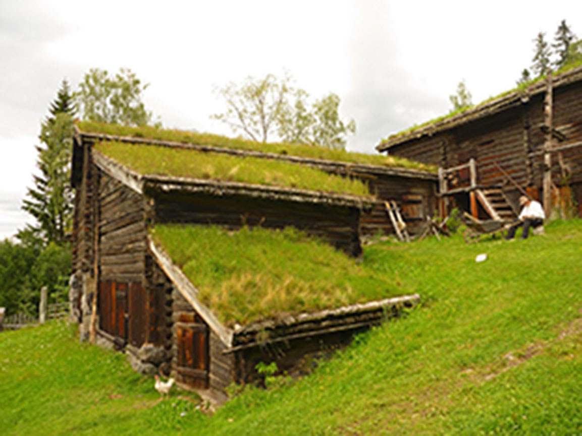 Figure 13.3. A building style that has proved itself over the centuries to be effortlessly flexible and adaptive. (Source: Kristian Hoff-Andersen, taken at the Maihaugen open air museum in Lillehammer, Norway, and posted at http://hoff-andersen.blogspot.com/.)