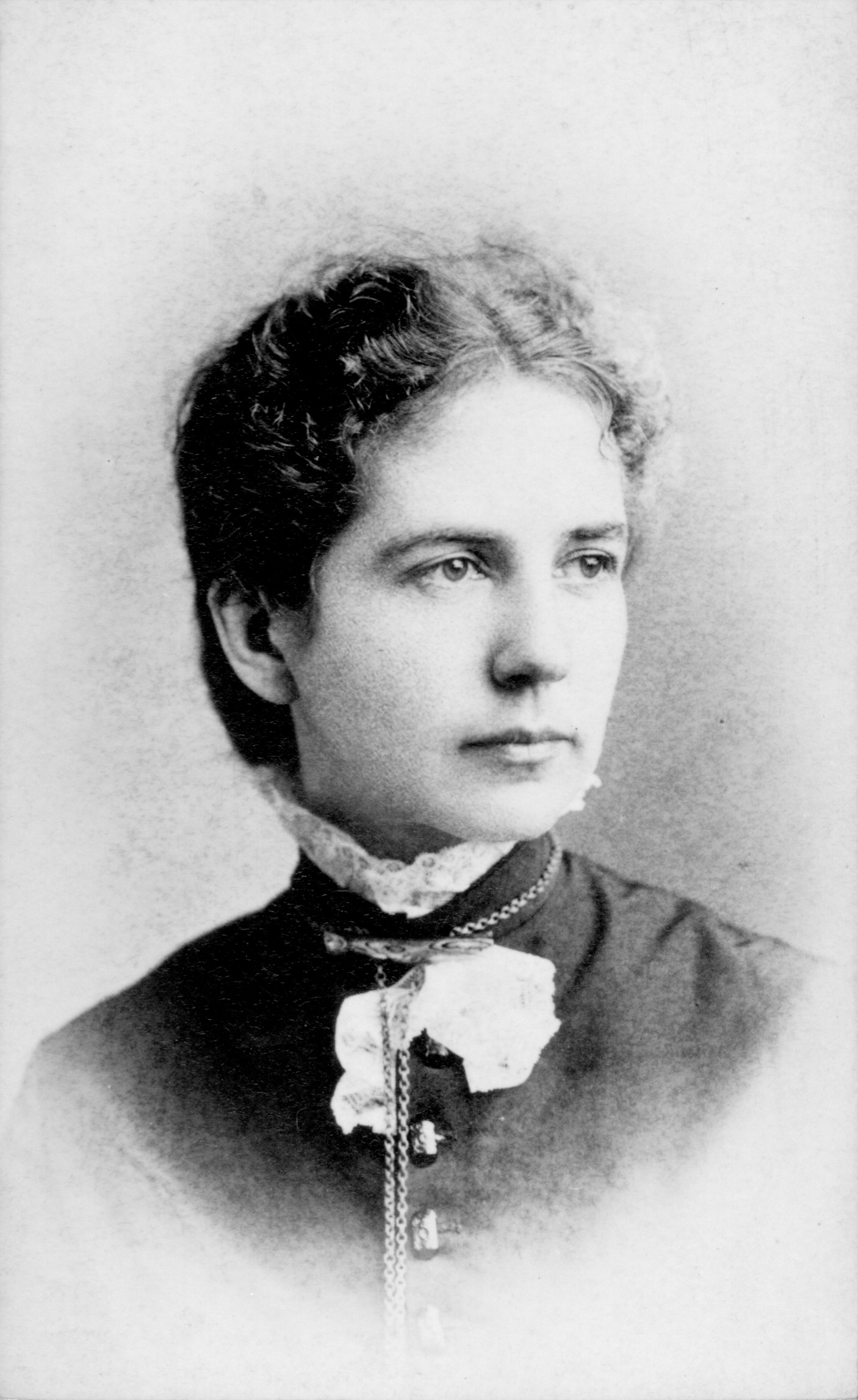 Gertrude Howe as a young missionary. Courtesy of the General Commission on Archives and History, United Methodist Church.