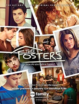 Figure 2. ABC Family promotional picture of The Fosters, season 1.