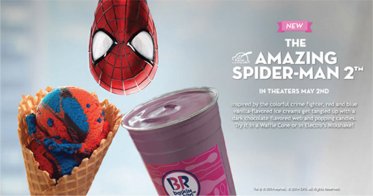 Figure 3. Advertisement for Baskin-Robbins.