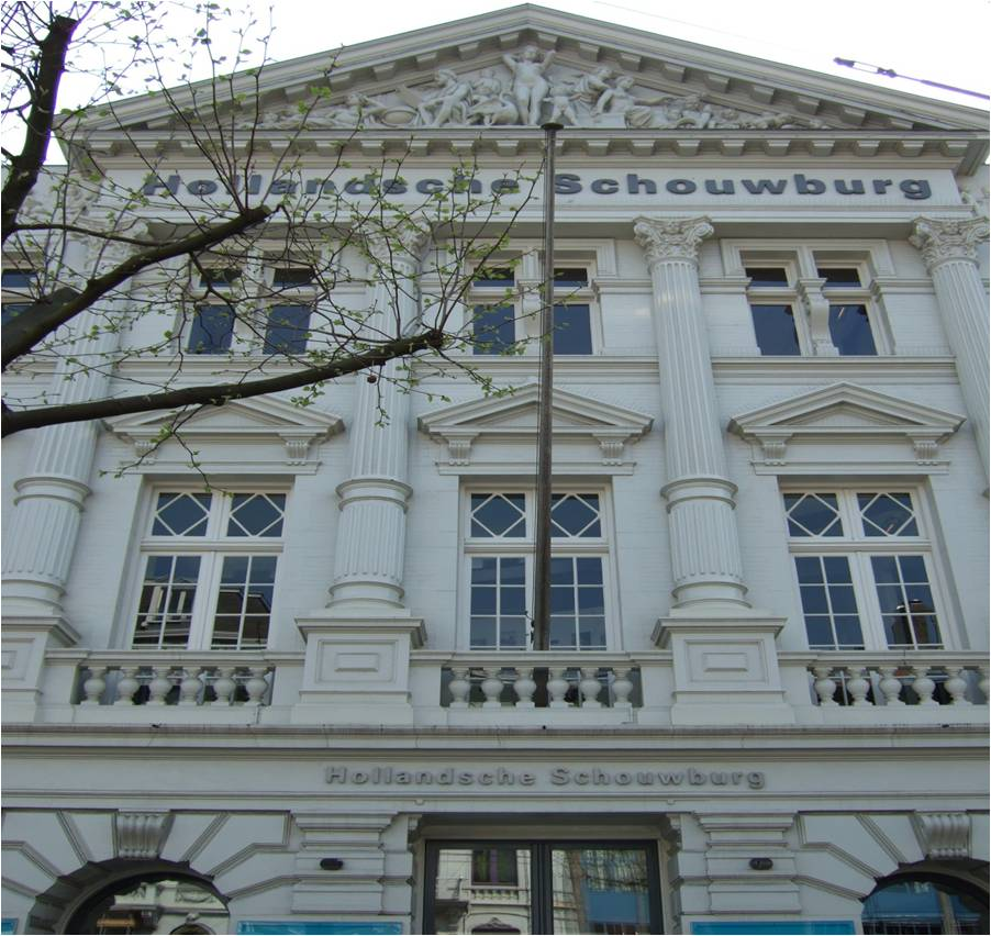 Figure 2.: The Jewish Theater in Amsterdam (originally and currently the Hollandsche Schouwburg)