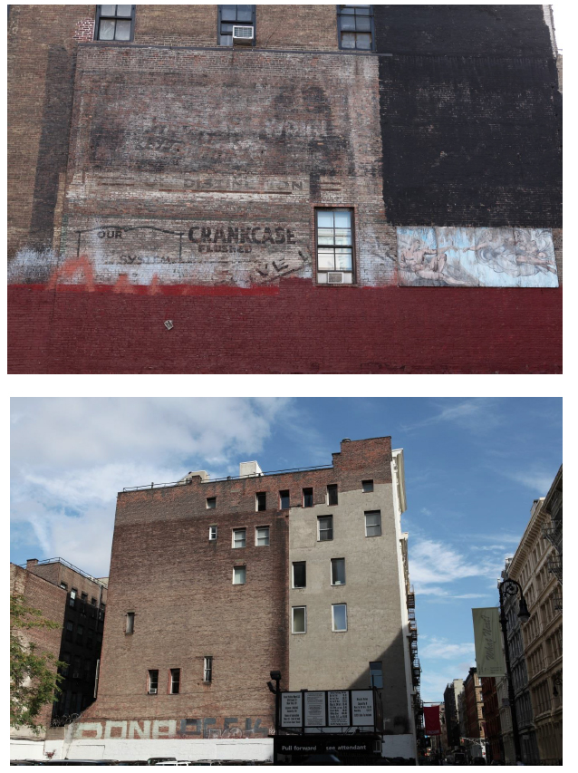 Figs. 2 and 3: Architectural palimpsests (photos by author).