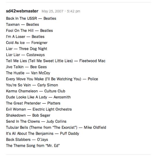 "I've Got a Little List"": Spotifying Mitt Romney and Barack Obama in"