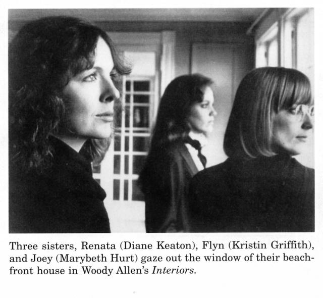 three sisters renata diane keaton flyn kristin griffith and