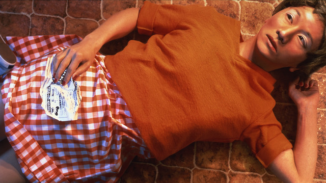 Fig. 1: Morimura Yasumasa, 'To My Little Sister, for Cindy Sherman' from Portrait of the Artist as Art History series, 1998, 120 x 66.7 cm. © Morimura Yasumasa 1998; Courtesy ShugoArts Gallery, Tokyo.
