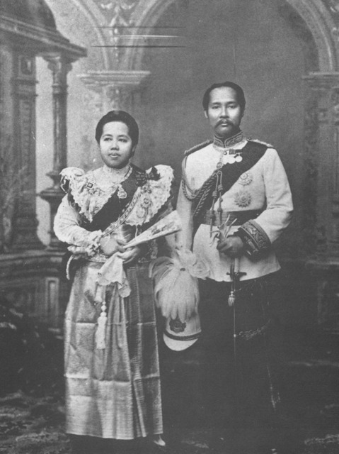 Figure 11. King Chulalongkorn and Queen Saowapha, circa 1902.