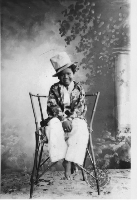 Figures 15. Semang boy Khanung, as photographed by King Chulalongkorn (N.d.).