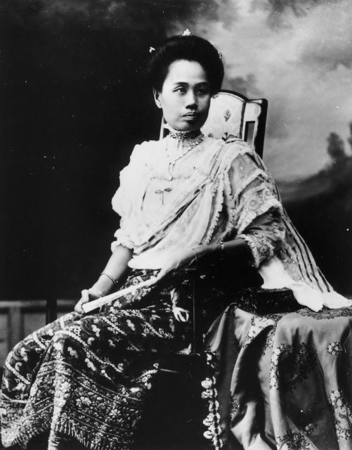 Figure 29. Second formal portrait of Dara Rasami taken in Chiang Mai in 1909.