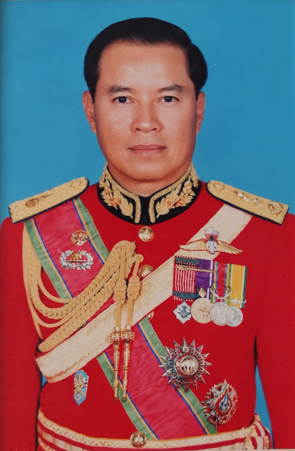 Fig. 12: Chaya Jittakorn studio, Bangkok, Retouched Photograph of Lieutenant General Fifth Class of the Order of the White Elephant, c. 1991.