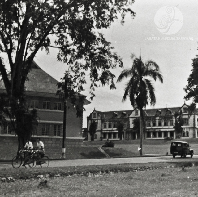 Figure 2: The Sarawak Museum, Kuching, 1957. Photograph from the archive of the Sarawak Museum.