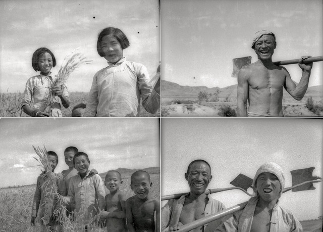 "Figs. 1.3–6. Gao Liang, ""The people who got land,"" June 1948."