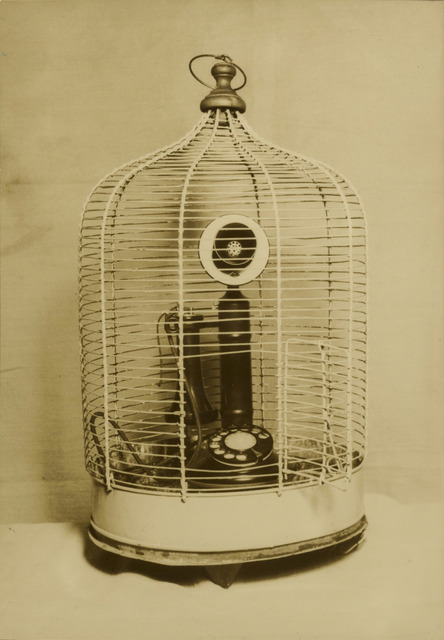 Fig. 13. Buddhist Temple's Bird Cage (1940), by Kansuke Yamamoto, gelatin silver print, © Toshio Yamamoto, private collection, Tokyo Metropolitan Museum of Photography.