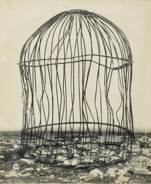 Fig. 14. Reminiscence (1953), by Kansuke Yamamoto, gelatin silver print, © Toshio Yamamoto, Anne and David Ruderman.