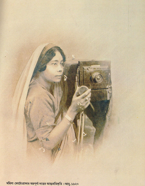 Fig. 1. Annapurna Dutta, Self-portrait.