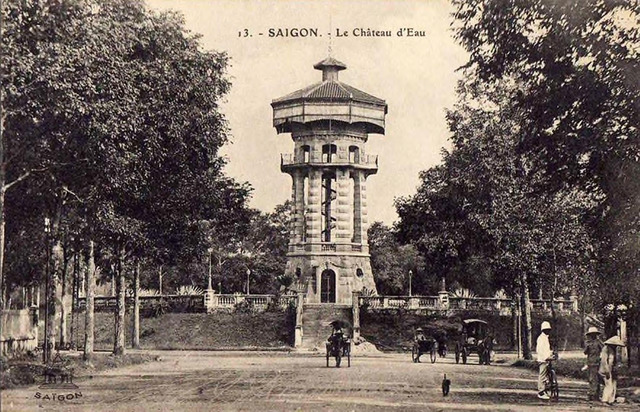 Fig. 25. Alexandre Decoly, Water Tower, Saigon, now Turtle Lake.