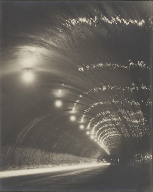 Fig. 4: Shinsaku IzumiTunnel of Night, c. 193134.3 x 27.2 cmCollection of the Los Angeles County Museum.