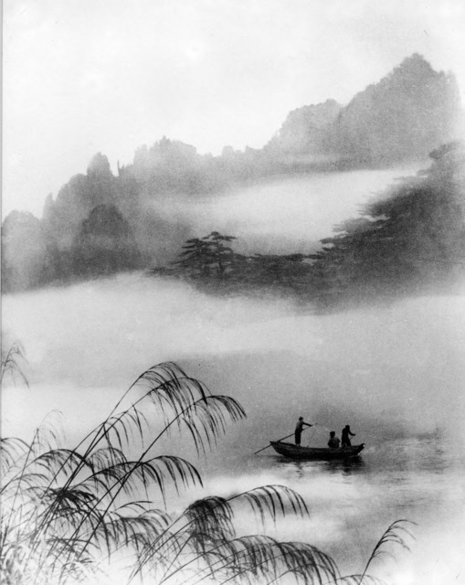 Fig. 8. Lang Jingshan, Yanbo yaoting, 1951, composite photograph.