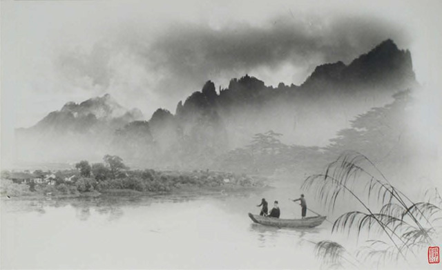 Fig. 10. Lang Jingshan, Yanbo yaoting, 1963, composite photograph.