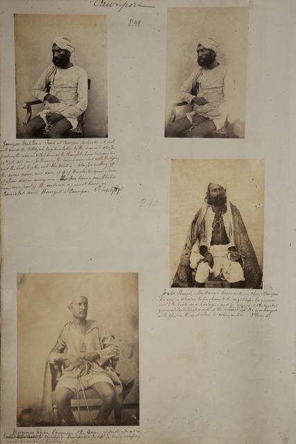 Fig 3 John Nicholas Tressider A Page From The Album Showing Portraits Of